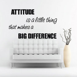 ColorfulHall Co., LTD - Stencils For Walls Attitude Is A Little Thing That Makes A Big Difference - Stencils For Walls Attitude Is A Little Thing That Makes A Big Difference