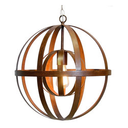 Worlds Away - Worlds Away Pemble Oxidized Sphere Chandelier - Iron Oxidized Sphere Chandelier.
