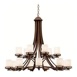Kichler - Kichler 1675 Hendrik 2-Tier  Chandelier - Product Features: