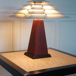 Little Samurai Man Table Lamp - Workspaces photo