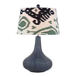 Dimond - Dimond D2520 Transitional Table Lamp - Item Finish: Navy Blue