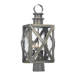 Elk Lighting - Elk Lighting 2143-WB Outdoor Post Light - Elk Lighting 2143-WB Outdoor Post Light