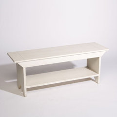 traditional benches by Ethan Allen