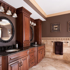 Traditional Bathroom by Brooks Kitchen and Bath Design, Inc