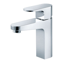 Fresca - Fresca Velino Single Hole Mount Bathroom Faucet - Chrome - This single hole faucet is made from heavy duty brass with a chrome finish.  Features a Hydroplast mixing valve with water saving control.