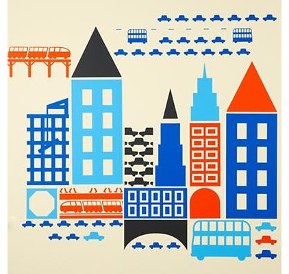 Modern Kids Wall Decor by The Land of Nod