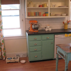 eclectic kitchen LeAnn