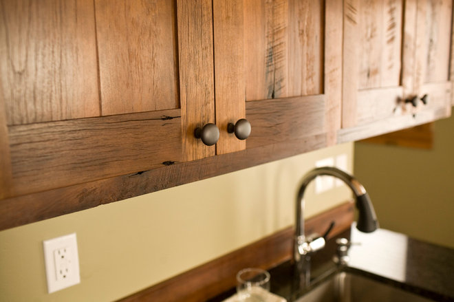 Contemporary Kitchen Cabinets by Montana Reclaimed Lumber Co.
