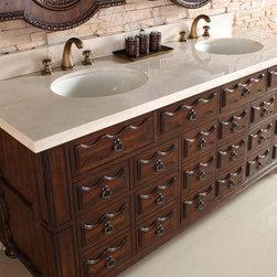 """72"""" Granada Double Sink Vanity -"""