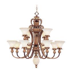 Livex Lighting - Livex Lighting 8428-57 Ceiling Light/Chandeliers - Livex Lighting 8428-57 Ceiling Light/Chandeliers