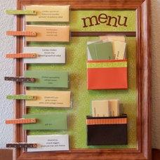 Dinner menu organiser - weekly