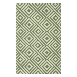 """Loloi - Indoor/Outdoor Venice Beach 9'3""""x13' Rectangle Slate-Ivory Area Rug - The Venice Beach area rug Collection offers an affordable assortment of Indoor/Outdoor stylings. Venice Beach features a blend of natural Slate-Ivory color. Handmade of Polypropylene the Venice Beach Collection is an intriguing compliment to any decor."""