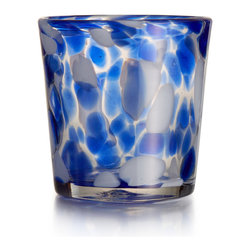 Jay Import Co. - Splash Blue Set of 4 Old Fashion - Add elegenace to your home with this set from Fitz & Floyd.