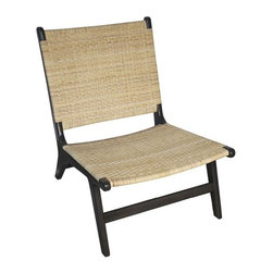 NOIR - NOIR Furniture - Verano Chair - SOF227P - Features: