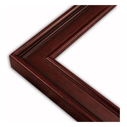 The Frame Guys - Classic Mahogany Picture Frame-Solid Wood, 10x10 - *Classic Mahogany Picture Frame-Solid Wood, 10x10