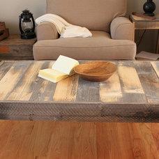 Modern Coffee Tables by JW Atlas Wood Co.