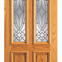 "Single Door, Mahogany Twin Lite Entry, Insulated Beveled Glass - SKU#    101-A-1Brand    AAWDoor Type    ExteriorManufacturer Collection    Unique Entry DoorsDoor Model    Door Material    WoodWoodgrain    MahoganyVeneer    Price    1060Door Size Options    30"" x 80"" (2'-6"" x 6'-8"")  $032"" x 80"" (2'-8"" x 6'-8"")  $036"" x 80"" (3'-0"" x 6'-8"")  +$2042"" x 80"" (3'-6"" x 6'-8"")  +$150Core Type    SolidDoor Style    TraditionalDoor Lite Style    Twin Lite , 2/3 LiteDoor Panel Style    2 Panel , Raised MouldingHome Style Matching    Colonial , Plantation , VictorianDoor Construction    Engineered Stiles and RailsPrehanging Options    Prehung , SlabPrehung Configuration    Single DoorDoor Thickness (Inches)    1.75Glass Thickness (Inches)    3/4Glass Type    Triple GlazedGlass Caming    BlackGlass Features    Insulated , TemperedGlass Style    Glass Texture    Glue ChipGlass Obscurity    Moderate ObscurityDoor Features    Door Approvals    FSCDoor Finishes    Door Accessories    Weight (lbs)    340Crating Size    25"" (w)x 108"" (l)x 52"" (h)Lead Time    Slab Doors: 7 daysPrehung:14 daysPrefinished, PreHung:21 daysWarranty    1 Year Limited Manufacturer WarrantyHere you can download warranty PDF document."