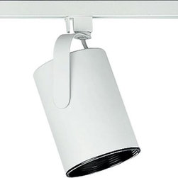 Progress Lighting - Progress Lighting Alpha Trak Collection White 1-light Track Head P9206-28 - Shop for Lighting & Fans at The Home Depot. The AlphaTrak modular system provides a practical approach to providing illumination in targeted areas. Select from track fixtures that feature 360-degree rotation and 90-degree tilt for precising aiming of PAR, BR or halogen light sources. Select fixtures and accessories for a complete system. Alpha Trak is not compatible with modular track systems.