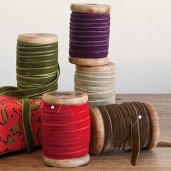 Velvet Ribbons, Set of 5