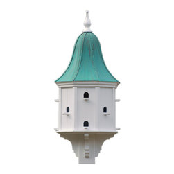 """Estate Purple Martin House - Add some major curb appeal with this vinyl martin house, an impressive 54"""" tall. No worries of rotting, cracking, splitting or fading... guaranteed!"""