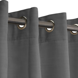 RoomDividersNow - Room Divider Fabric Curtain, Graystone, 9'x15' - - RoomDividersNow is the premier supplier of fabric style room dividers on the market today.  Our curtain room dividers are economically priced and provide customers with a great way to divide a room, create privacy or just hide clutter.