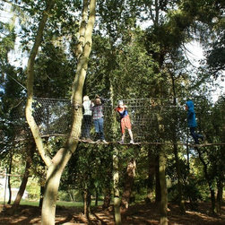 Tree Canopy Walkways for stunning woodland 'sky walking' and 'tree surfing' - Have you ever wondered what it would feel like to be Peter Pan, Tarzan or even Jane - able to swing fearlessly through the treetops or fly through the air as you whoop with delight?
