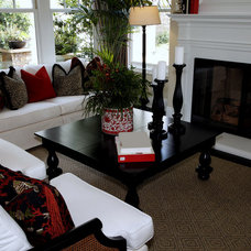 Traditional Family Room by Marcia Nease with Baer's Furniture