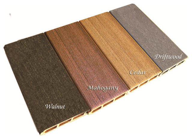Pvc free composite deck products for Composite decking colors available