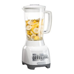 Hamilton Beach - 10 SPEED BLENDER WITH 48OZ JAR - WHITE                              This item cannot ship to APO/FPO addresses.  Please accept our apologies.
