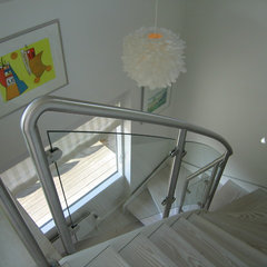 contemporary staircase Stairs