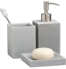 modern bath and spa accessories by CB2