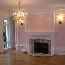 Traditional Fireplace Mantels by Sunrise Carpentry, Inc.