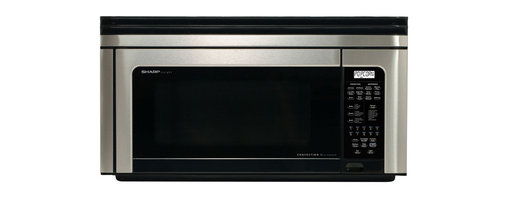 Sharp - 1.1 CF, 850 Watt OTR Convection Microwave; Stainless - Convection microwave oven browns, bakes, broils, crisps and roasts|Over-the range design has built-in exhaust system with hood light and fan|1.1 cu. ft. capacity with 850 watts of cooking power|13 inch ceramic turntable with on/off option|High rack included for two-level baking and low rack may be used for baking, roasting or broiling|Interactive Cooking System with custom help includes options for English, Spanish or French|7-digit, interactive, 2-color display|25 automatic settings including Microwave Sensor cook|12 Smart and Easy sensor settings determine times and power levels|Automatic defrost and Keep Warm Plus|  sharp| r1880lsrt r-1874t| r 18880lsrt| microwave| oven| over the range| convection| 1.1 cu. ft.| 850w| 850 watt| turntable| lcd display  Package Contents: stainless steel microwave|turntable|hardware|manual|warranty  This item cannot be shipped to APO/FPO addresses  Sharp will no longer take back any Sharp product as a DOA.� This includes, TV, A/V Products, and any Sharp Appliances.� Please call Sharp at 1-800-BESHARP for service details.� We will not be able to accept DOA returns on this item.� Please accept our apologies.