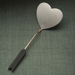 Beehive Heart Pancake Spatula - Made with love by Beehive the Heart Pancake Spatula is made of stainless steel and copper with plastic grip. You'll flip!