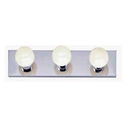 "Nuvo Lighting - Nuvo Lighting 77/192 Three Light 18"" Bathroom Bar Light, in Polished Chrome Fini - Nuvo Lighting 77/192 Three Light 18"" Bathroom Bar Light, in Polished Chrome FinishNuvo Lighting 77/192 Features:"