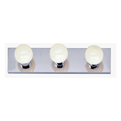 "Nuvo Lighting - Nuvo Lighting 77/192 Three Light 18"" Bathroom Bar Light, in Polished Chrome Fini - Nuvo Lighting 77/192 Three Light 18"" Bathroom Bar Light, in Polished Chrome FinishNuvo Lighting 77/192 Features:"