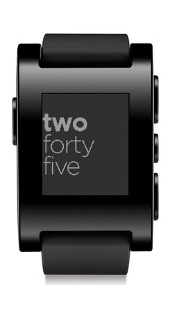 test item 4 (do not buy), Black - The Pebble Smartwatch connects to your iPhone or Android device via Bluetooth so you get the information you need exactly when you need it. Designed to make your life easier, Pebble provides personalized notifications and downloadable apps to keep you in the loop when you're on the go. You can also customize with watchfaces and apps to suit your personal style and interests. It features a long-lasting battery, user-friendly operation, and a screen that's readable even in bright daylight or underwater. Pebble comes with a USB charging cable and Quick Start Guide.