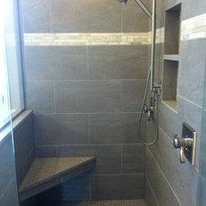 Traditional Bathroom by Renovation Associates, Inc.