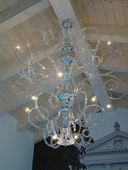 contemporary chandeliers by MURANO IMPORTS™ Lighting in Design Inc.