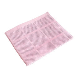 Blancho Bedding - [Light Pink] 100% Cotton Thermal Cellular Throw Blanket (59.1 by 78.7 inches) - The Thermal Cellular Throw Blanket measures 59.1 by 78.7 inches. This knitted, all cotton, cellular-weave, thermal blanket keeps warm and cozy, and has durable, bounded edges for strength and long wear with tightly knit yarns to minimize snagging. The soft cellular weave is perfect for warmer climates all year round or as an extra layer in cooler climates. Whether you are adding the final touch to your bedroom or rec-room, these patterns will add a little whimsy to your decor. Machine wash and tumble dry for easy care. Will look and feel as good as new after multiple washings! This blanket adds a decorative touch to your decor at an exceptional value. Comfort, warmth and stylish designs. This throw blanket will make a fun additional to any room and are beautiful draped over a sofa, chair, bottom of your bed and handy to grab and snuggle up in when there is a chill in the air. They are the perfect gift for any occasion!