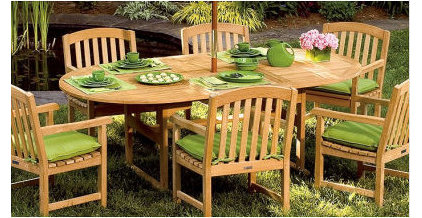 Contemporary Outdoor Tables by Simply Home Decorating