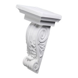 uDecor - CB-1601 Corbel - These corbels are for decorative use only. These should not be used for any structural support.