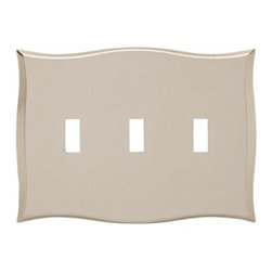 Liberty Hardware - Liberty Hardware 144058 Selby WP Collection 6.78 Inch Switch Plate - A simple change can make a huge impact on the look and feel of any room. Change out your old wall plates and give any room a brand new feel. Experience the look of a quality Liberty Hardware wall plate. Width - 6.78 Inch, Height - 4.88 Inch, Projection - 0.27 Inch, Finish - Bronze W/Copper Highlights, Weight - 0.78 Lbs.