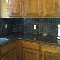 Traditional Kitchen by ADF Flooring LLC