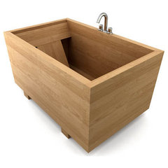 asian bathtubs by bath-in-wood.com
