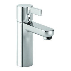 "Hansgrohe - Hansgrohe 31060001 Chrome Metris S Metris S Bathroom Faucet Single - Features:All brass faucet body and handle constructionFully covered under Hansgrohe s limited lifetime warrantyHansgrohe faucets are designed and engineered in GermanySuperior finishing process - finishes will resist corrosion and tarnishing through everyday useSingle lever handle operationADA compliant- complies with the standards set forth by the Americans with Disabilities Act for bathroom faucetsLow lead compliant- meeting federal and state regulations for lead contentWaterSense Certified product- using at least 30% less water than standard 2.2 GPM faucets, while still meeting strict performance guide lines.Designed for use with standard U.S. plumbing connectionsAll hardware needed for mounting is included with faucetIncludes metal pop-up drain assemblySpecifications:Overall Height: 7-1/2"" (measured from counter top to the highest part of the faucet)Spout Height: 3-3/4"" (measured from counter top to the spout outlet)Spout Reach: 4-1/4"" (measured from the center of the faucet base to the center of spout outlet)Mounting Type: WidespreadNumber of Holes Required for Installation: 1Faucet Centers (Distance Between Handle Installation Holes): Single HoleFlow Rate: 1.5 GPM (gallons-per-minute)Maximum Deck Thickness: 1-5/8""Metal lever handle included with faucetVariations: 31060: This model31163: Wall mount version of this model31161: Vessel version of this model with side lever handle31102: Single hole version of this faucet with electronic sensor and temperature control31101: Single hole version of this model with electronic sensor31067: Widespread version of this faucet with knob handlesAbout Hansgrohe: Founded in G"