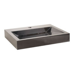 Lenova - Lenova Sv-61 Above Counter Vessel Sink Black Marble - The Lenova SV-61 Stone Vessel Bathroom Sink, Black Marble has overall sink dimensions of 21-1/2-Inch by 17-3/4-Inch and bowl dimensions of 19-Inch by 13-Inch by 3-Inch. The name Lenova is born from a love of space and stars where the universe is truly unlimited. In this boundless spirit we present a line of new and timeless designs for kitchen and bath sinks. Romancing the Stone. Our global search beautiful stone has resulted in a love affair with each color and the region they were born. Rich Black Granite from Brazil, Northern China and India. Smooth White Marble from Italy, Northern China and Southern China. Translucent Onyx from Pakistan, Central China and India. Stunning Red and Gold Marble from Southwestern China. The Stone Bath Vessel Group offers classical from in sumptuous stone. There are few more beautiful elements than the natural stone that is crafted and polished to perfection. This process begins with a solid block of 100-Percent natural stone that is then given its rough shape. Then skilled stone craftsmen take up to 10 days to hone each sink to its final form. with all the colors available, there is sure to be a stone bath sink to match any design style. Lenova Sinkware extends a warranty for all Lenova Sinkware products against material and workmanship defects to the original purchaser for one year from date of installation or date of use.