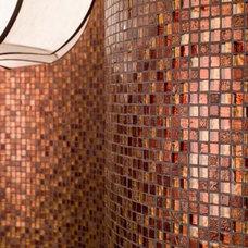 Contemporary Tile Hermes - Dune - mosaic mix