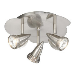 Vaxcel Lighting - Vaxcel Lighting SP34124 Three Light Down Lighting Accent / Spot Light from the S - *Three light down lighting accent / spotlight flush mount ceiling fixture