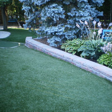 Contemporary  Landscaping Ideas and Backyard Retreats